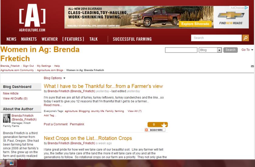 Agriculture.com Blog