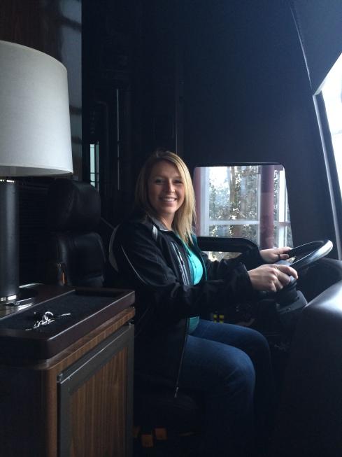 Jeff Gordon's Tour Bus